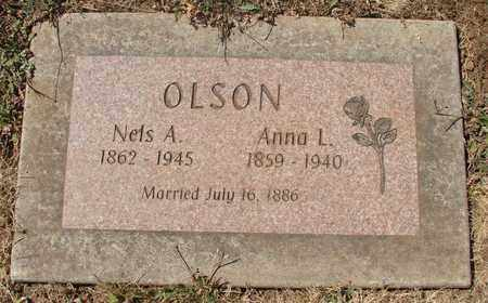 OLSON, ANNA LOUISE - Marion County, Oregon | ANNA LOUISE OLSON - Oregon Gravestone Photos