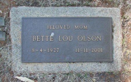OLSON, BETTE LOU - Marion County, Oregon | BETTE LOU OLSON - Oregon Gravestone Photos