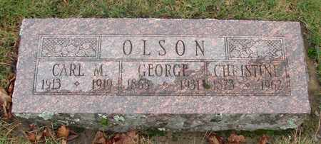 OLSON, CARL MARTIN - Marion County, Oregon   CARL MARTIN OLSON - Oregon Gravestone Photos