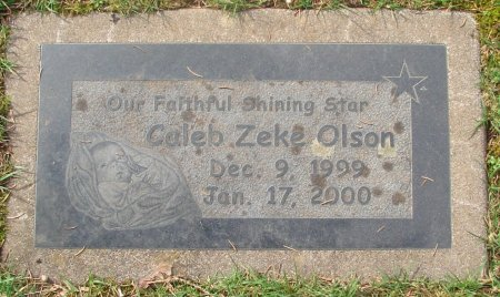 OLSON, CALEB ZEKE - Marion County, Oregon | CALEB ZEKE OLSON - Oregon Gravestone Photos