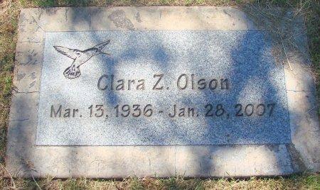 OLSON, CLARA Z - Marion County, Oregon | CLARA Z OLSON - Oregon Gravestone Photos