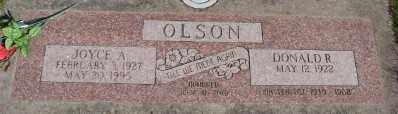OLSON, DONALD R - Marion County, Oregon   DONALD R OLSON - Oregon Gravestone Photos
