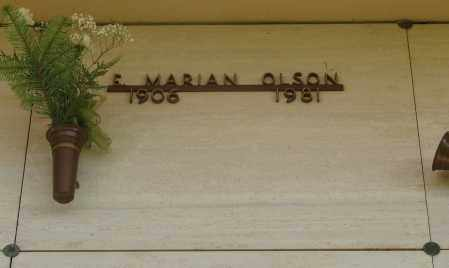 OLSON, EDITH MARIAN - Marion County, Oregon | EDITH MARIAN OLSON - Oregon Gravestone Photos