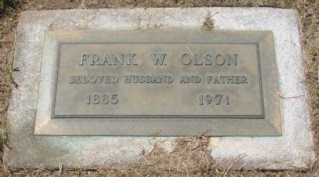OLSON, FRANK W - Marion County, Oregon   FRANK W OLSON - Oregon Gravestone Photos