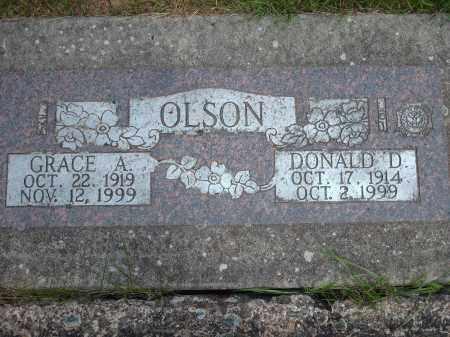 OLSON, GRACE A. - Marion County, Oregon   GRACE A. OLSON - Oregon Gravestone Photos