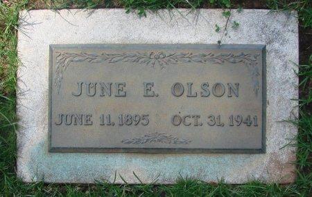 OLSON, JUNE E - Marion County, Oregon | JUNE E OLSON - Oregon Gravestone Photos