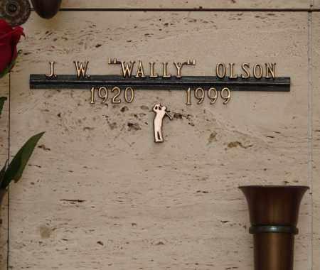OLSON, J WALLACE - Marion County, Oregon | J WALLACE OLSON - Oregon Gravestone Photos