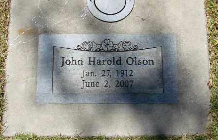 OLSON, JOHN HAROLD - Marion County, Oregon   JOHN HAROLD OLSON - Oregon Gravestone Photos