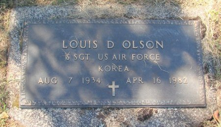 OLSON, LOUIS DEAN - Marion County, Oregon   LOUIS DEAN OLSON - Oregon Gravestone Photos