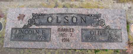 OLSON, OLIVE V - Marion County, Oregon | OLIVE V OLSON - Oregon Gravestone Photos