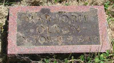 OLSON, MARJORIE - Marion County, Oregon | MARJORIE OLSON - Oregon Gravestone Photos