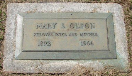 OLSON, MARY S - Marion County, Oregon   MARY S OLSON - Oregon Gravestone Photos
