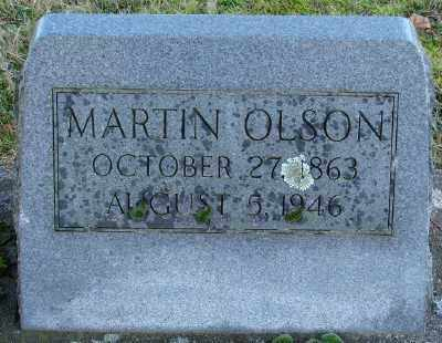 OLSON, MARTIN - Marion County, Oregon | MARTIN OLSON - Oregon Gravestone Photos