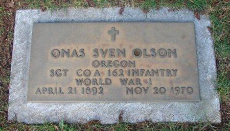 OLSON, ONAS SVEN - Marion County, Oregon   ONAS SVEN OLSON - Oregon Gravestone Photos