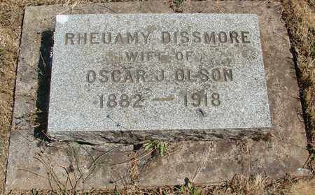 OLSON, RHEUAMY - Marion County, Oregon | RHEUAMY OLSON - Oregon Gravestone Photos