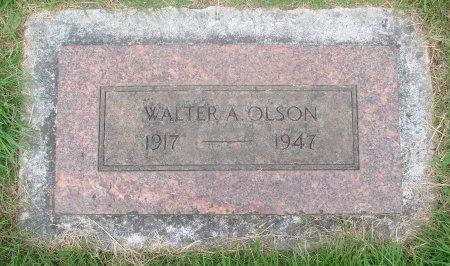 OLSON, WALTER A - Marion County, Oregon | WALTER A OLSON - Oregon Gravestone Photos