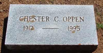 OPPEN, CHESTER CLAUDE - Marion County, Oregon | CHESTER CLAUDE OPPEN - Oregon Gravestone Photos