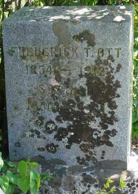 OTT, FREDERICK TILLMAN - Marion County, Oregon | FREDERICK TILLMAN OTT - Oregon Gravestone Photos
