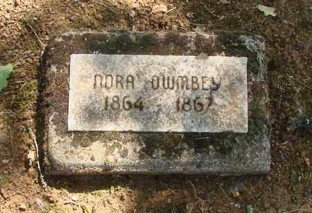 OWMBEY, NORA - Marion County, Oregon | NORA OWMBEY - Oregon Gravestone Photos