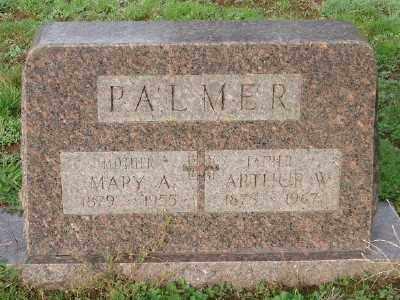 PALMER, ARTHUR W - Marion County, Oregon | ARTHUR W PALMER - Oregon Gravestone Photos