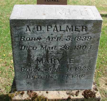 PALMER, MARY E - Marion County, Oregon | MARY E PALMER - Oregon Gravestone Photos