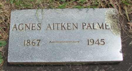 PALMER, AGNES - Marion County, Oregon | AGNES PALMER - Oregon Gravestone Photos