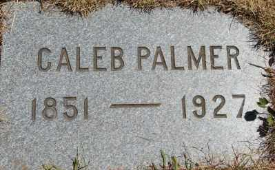 PALMER, CALEB M - Marion County, Oregon | CALEB M PALMER - Oregon Gravestone Photos