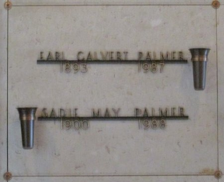 PALMER, EARL CALVERT - Marion County, Oregon | EARL CALVERT PALMER - Oregon Gravestone Photos