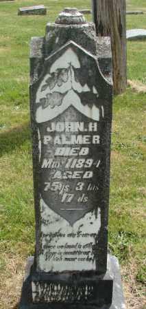 PALMER, JOHN H - Marion County, Oregon | JOHN H PALMER - Oregon Gravestone Photos