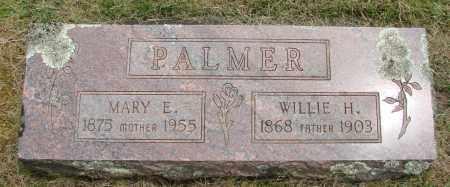 PALMER, WILLIE H - Marion County, Oregon | WILLIE H PALMER - Oregon Gravestone Photos