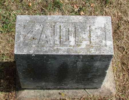 PALMER, ZAIDEE E - Marion County, Oregon | ZAIDEE E PALMER - Oregon Gravestone Photos