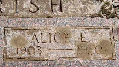 GIVEN PARRISH, ALICE E - Marion County, Oregon | ALICE E GIVEN PARRISH - Oregon Gravestone Photos