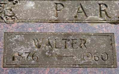 PARRISH, WALTER EVERETT - Marion County, Oregon | WALTER EVERETT PARRISH - Oregon Gravestone Photos