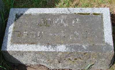 PARSONS, JOHN P - Marion County, Oregon | JOHN P PARSONS - Oregon Gravestone Photos