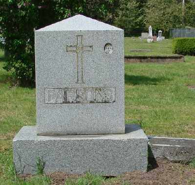 PARSONS, MONUMENT - Marion County, Oregon | MONUMENT PARSONS - Oregon Gravestone Photos