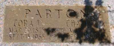 PARTON, CHARLES ARTHUR - Marion County, Oregon   CHARLES ARTHUR PARTON - Oregon Gravestone Photos