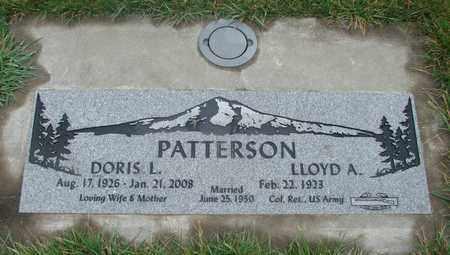 PATTERSON, DORIS L - Marion County, Oregon | DORIS L PATTERSON - Oregon Gravestone Photos