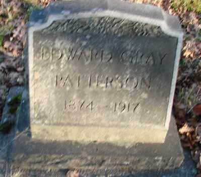 PATTERSON, EDWARD GRAY - Marion County, Oregon | EDWARD GRAY PATTERSON - Oregon Gravestone Photos