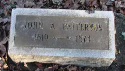 PATTERSON, JOHN A - Marion County, Oregon | JOHN A PATTERSON - Oregon Gravestone Photos