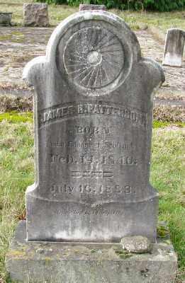 PATTERSON, JAMES R - Marion County, Oregon   JAMES R PATTERSON - Oregon Gravestone Photos