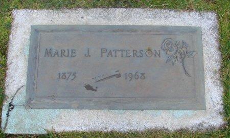 PATTERSON, MARIE J - Marion County, Oregon | MARIE J PATTERSON - Oregon Gravestone Photos