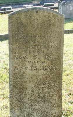 PATTERSON, SARAH J - Marion County, Oregon | SARAH J PATTERSON - Oregon Gravestone Photos