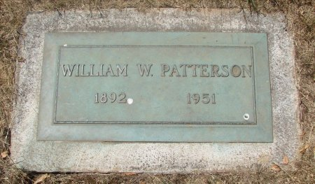 PATTERSON, WILLIAM W - Marion County, Oregon | WILLIAM W PATTERSON - Oregon Gravestone Photos