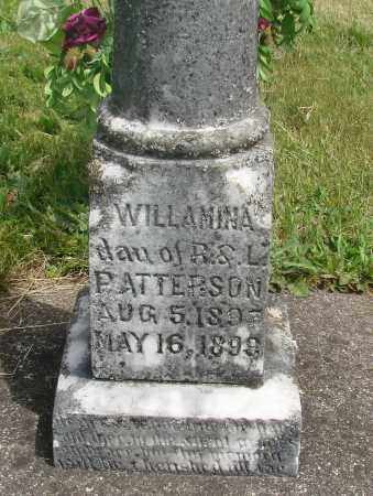 PATTERSON, WILLAMINA - Marion County, Oregon | WILLAMINA PATTERSON - Oregon Gravestone Photos