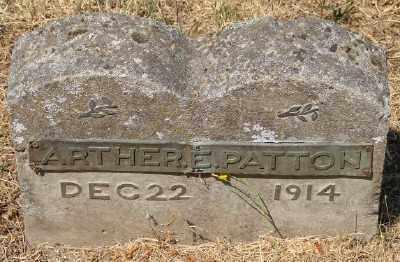 PATTON, ARTHER EARL - Marion County, Oregon | ARTHER EARL PATTON - Oregon Gravestone Photos