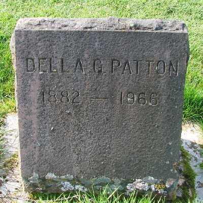 PATTON, DELLA G - Marion County, Oregon | DELLA G PATTON - Oregon Gravestone Photos
