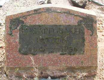 PATTON, EDWARD BAKER - Marion County, Oregon | EDWARD BAKER PATTON - Oregon Gravestone Photos