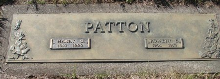 PATTON, HARRY CLIFFORD - Marion County, Oregon | HARRY CLIFFORD PATTON - Oregon Gravestone Photos