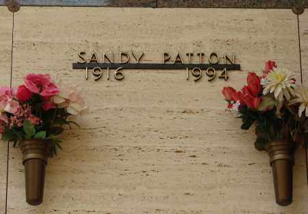 PATTON, SANDY - Marion County, Oregon   SANDY PATTON - Oregon Gravestone Photos