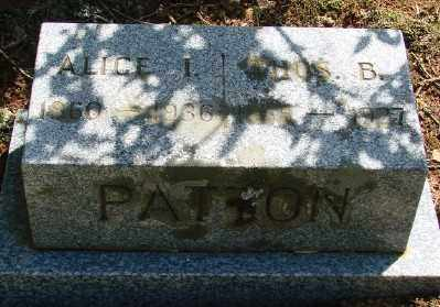 DOWNING PATTON, ALICE ISADORE - Marion County, Oregon | ALICE ISADORE DOWNING PATTON - Oregon Gravestone Photos